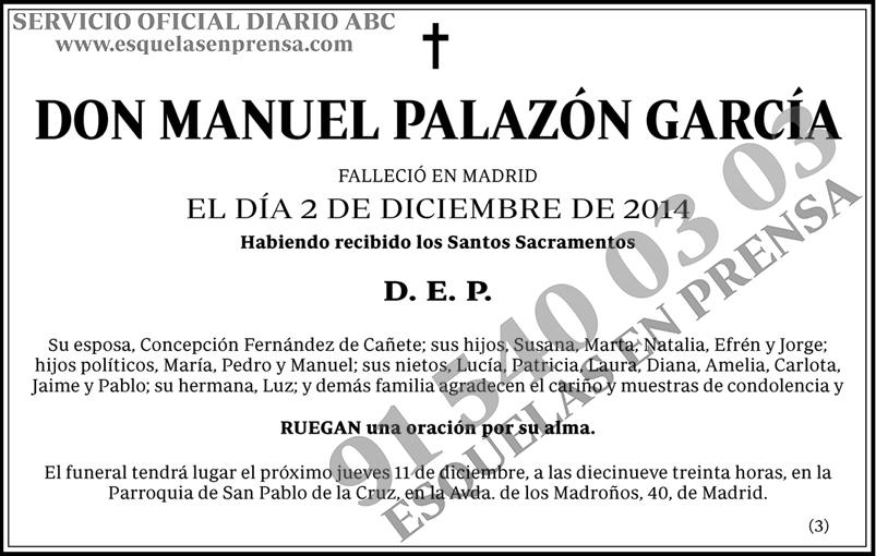 Manuel Palazón García